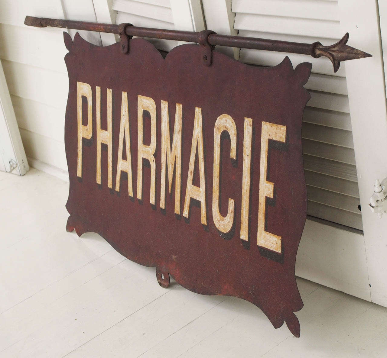 Large 19th century french sign at 1stdibs for French furniture designers 20th century