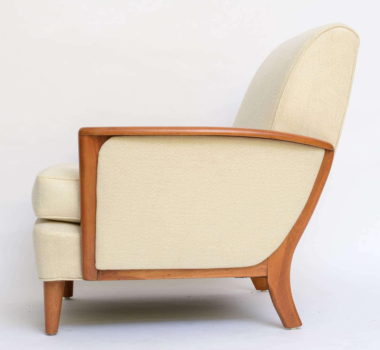 1941 Streamline Modern Lounge Chair By Heywood Wakefield