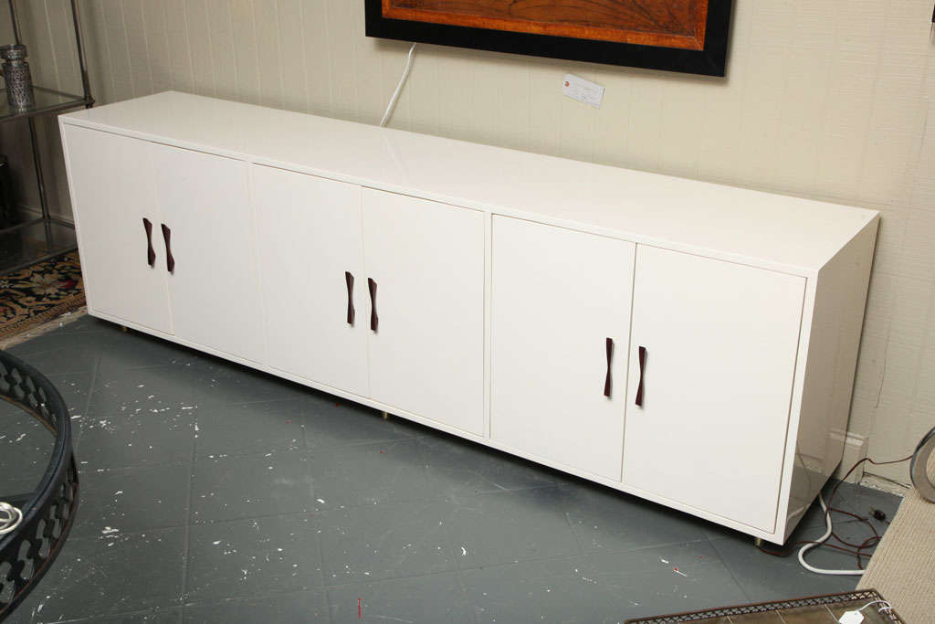 Long Six Door Cabinet At 1stdibs