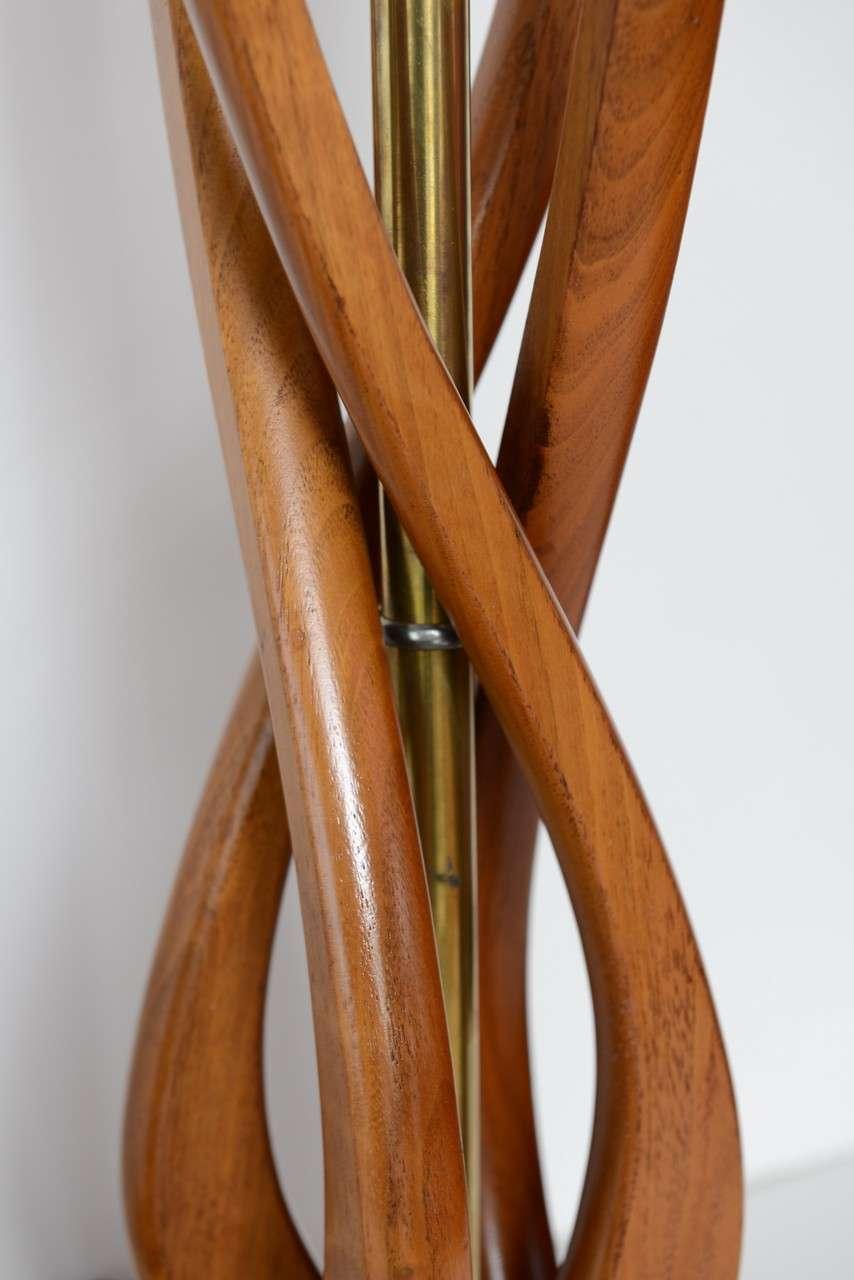 beautiful mid century modern danish style teak wood table lamps 7 beautiful mid century modern danish style teak