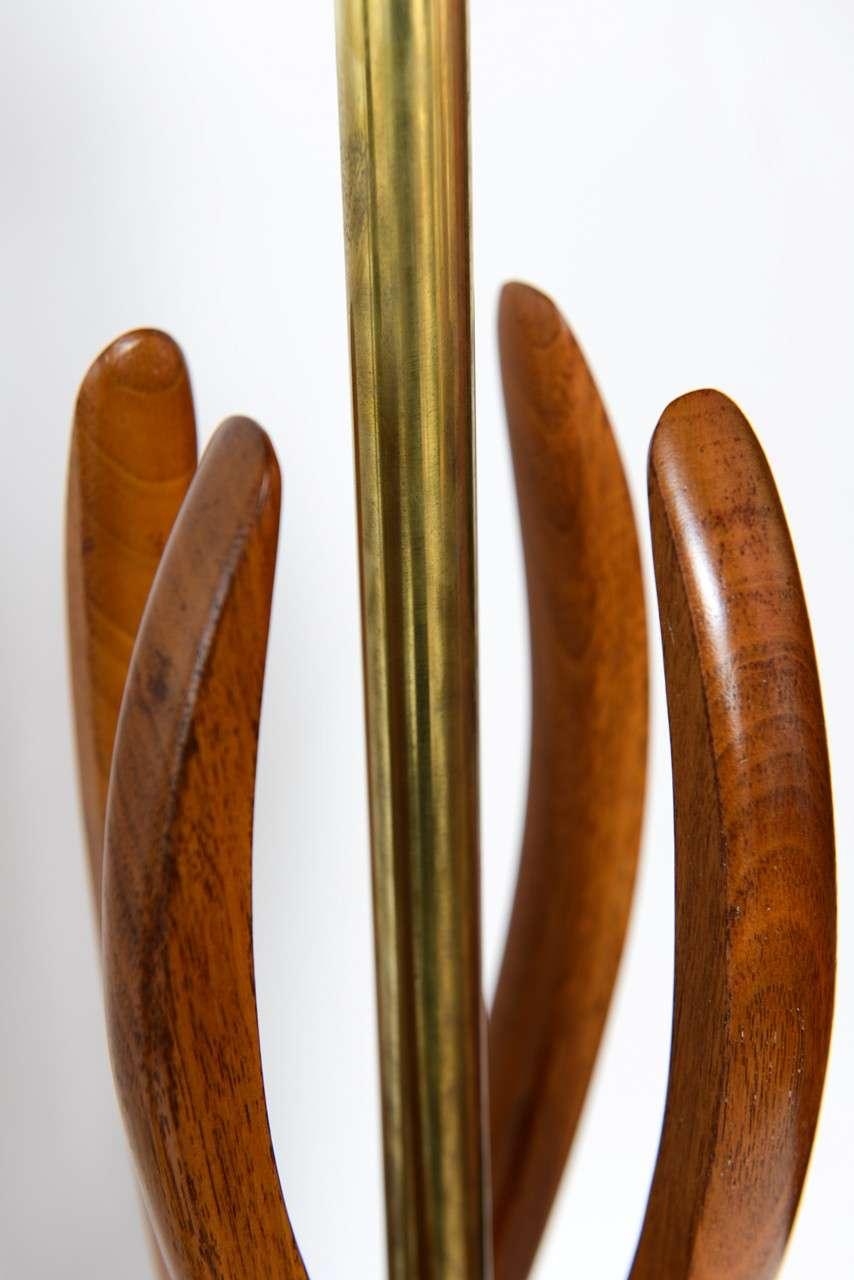 beautiful mid century modern danish style teak wood table lamps 10 beautiful mid century modern danish style teak