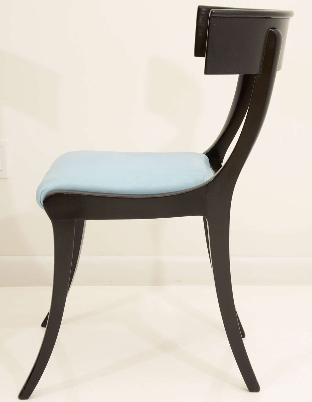 klismos stool ~ a pair of danish klismos chairs at 1stdibs