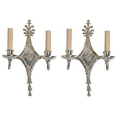 Caldwell Silverplated Sconces