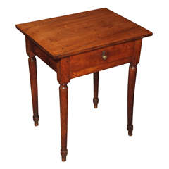 18th century Louis XVI walnut side table