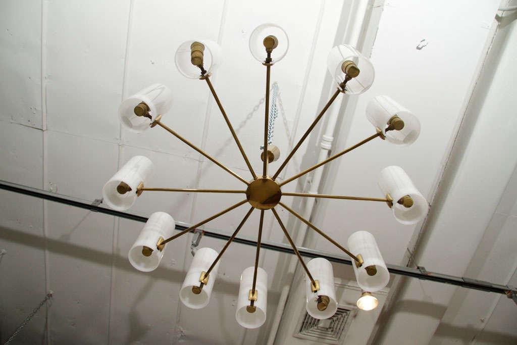 Italian Multi-Arm Ceiling Light 5
