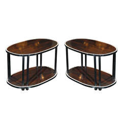 Pair of Art Deco Side Tables