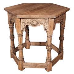 Oak Jacobean Centre Table