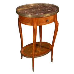 19th c Louis XV side table