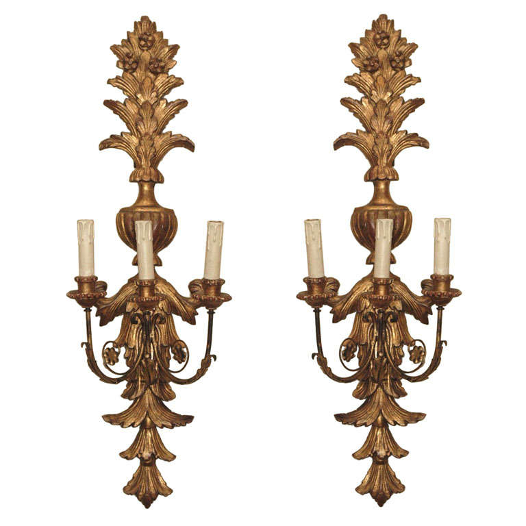 Italian Made Wall Sconces : Italian Wall Sconces at 1stdibs