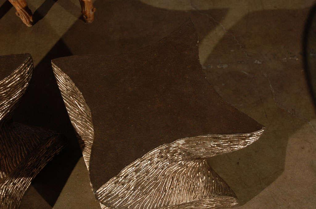 American Paul Marra Twist Side Table For Sale