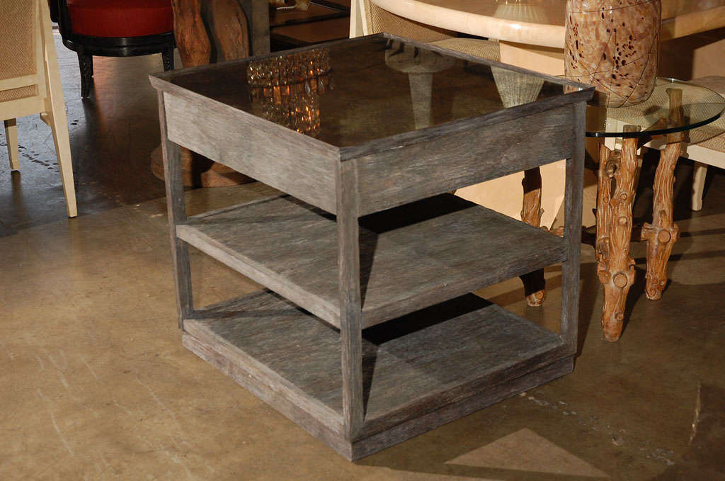 two tier nightstand 2