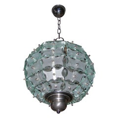 Small 1970s Chandelier by Quattro Zero