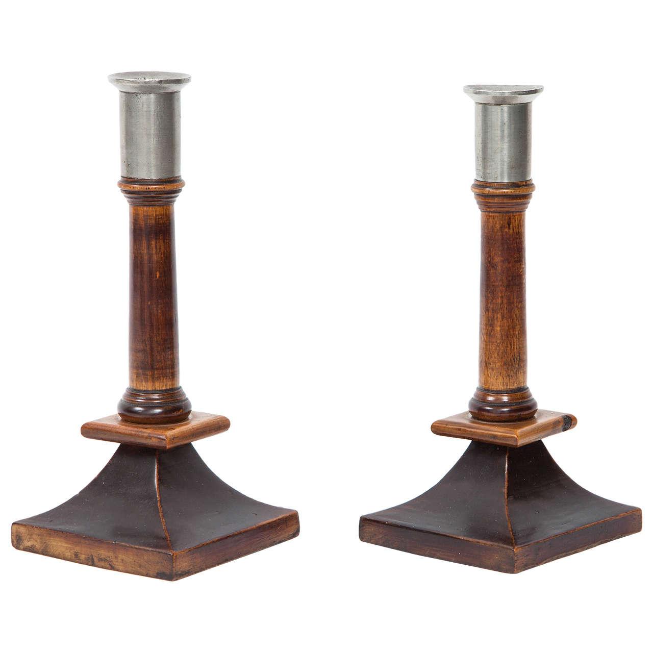 Pair of Swedish Candlesticks