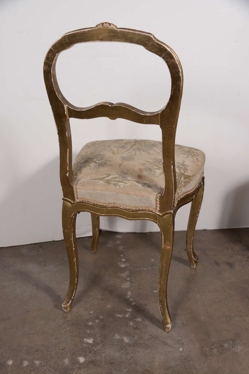 Hardwood Pair of 18th Century Chairs For Sale
