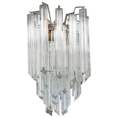 Petite Crystal Chandelier by Camer