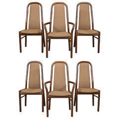 Six Danish Dining Chairs by Boltinge