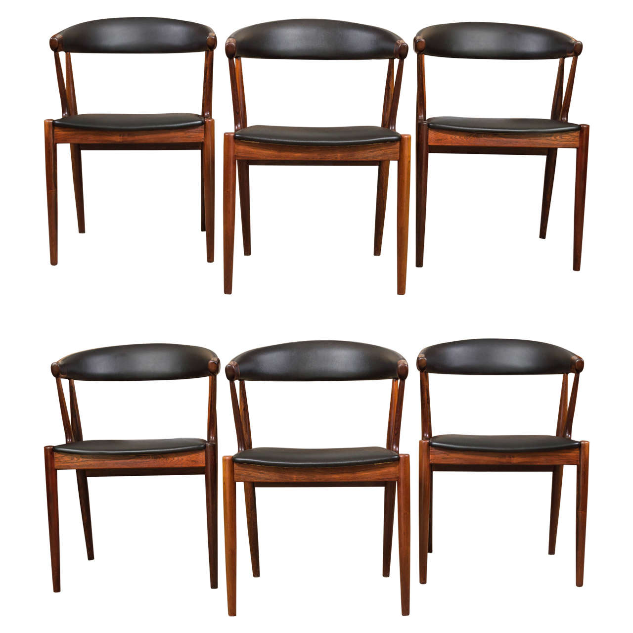 Six Rosewood Dining Chairs Johannes Andersen 1Six Rosewood Dining Chairs Johannes Andersen at 1stdibs. Rosewood Danish Dining Table And Chairs. Home Design Ideas