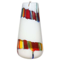 "Anzolo Fuga for Avem Murano ""Bandiere"" Flag Series Hanging Pendant, circa 1955"