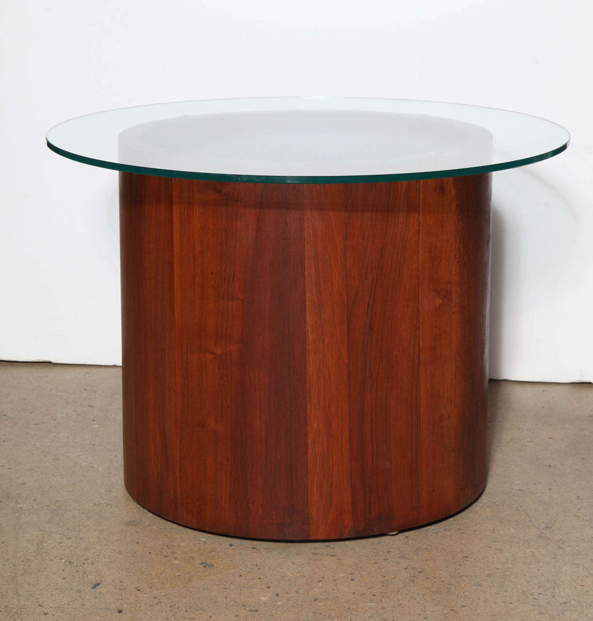 circular furniture. American Mid Century Modern Solid Teak Coffee Table With Circular Glass Top By Lane Furniture. Furniture D