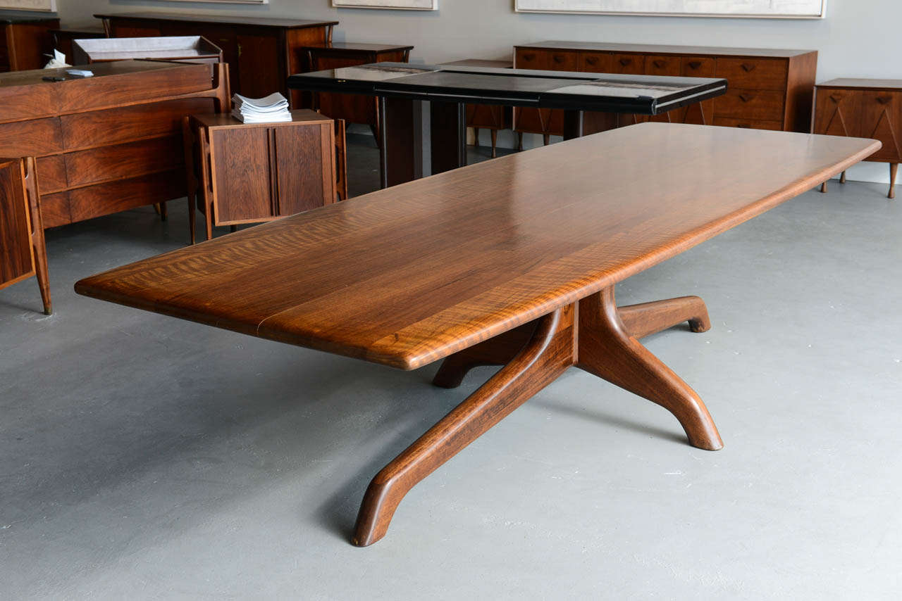 A Rare And Important Sam Maloof Dining Conference Table USA At 1stdibs