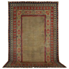 Rare Room Size Antique Tibetan Carpet
