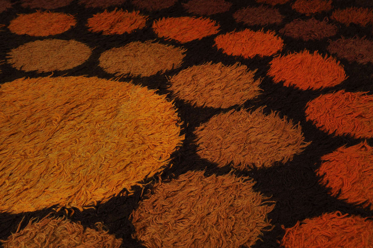 roulette carpet by verner panton for sale at stdibs - roulette carpet by verner panton