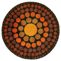 Roulette Carpet by Verner Panton