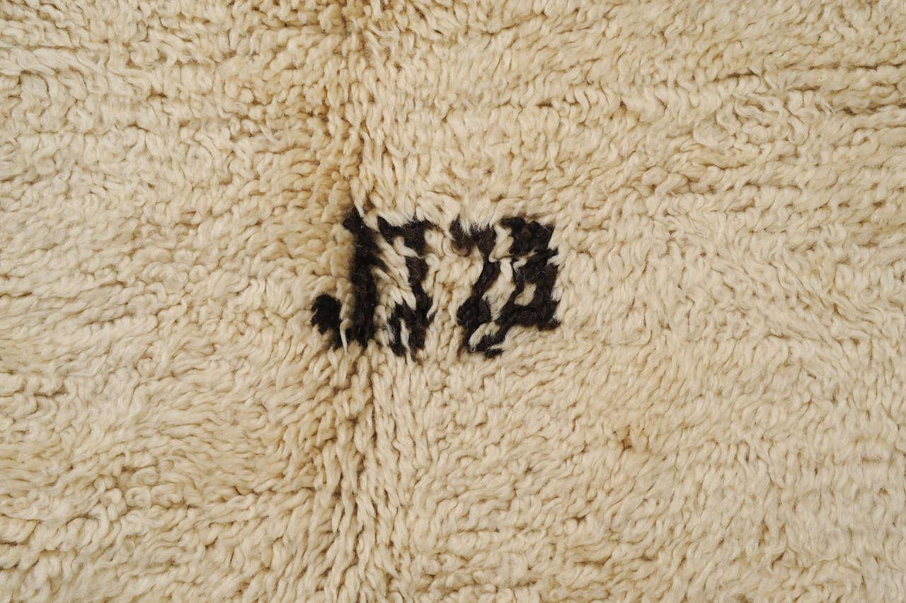 open field beni ouarain moroccan berber carpet at 1stdibs. Black Bedroom Furniture Sets. Home Design Ideas