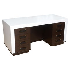 Paul Frankl Eight-Drawer Desk