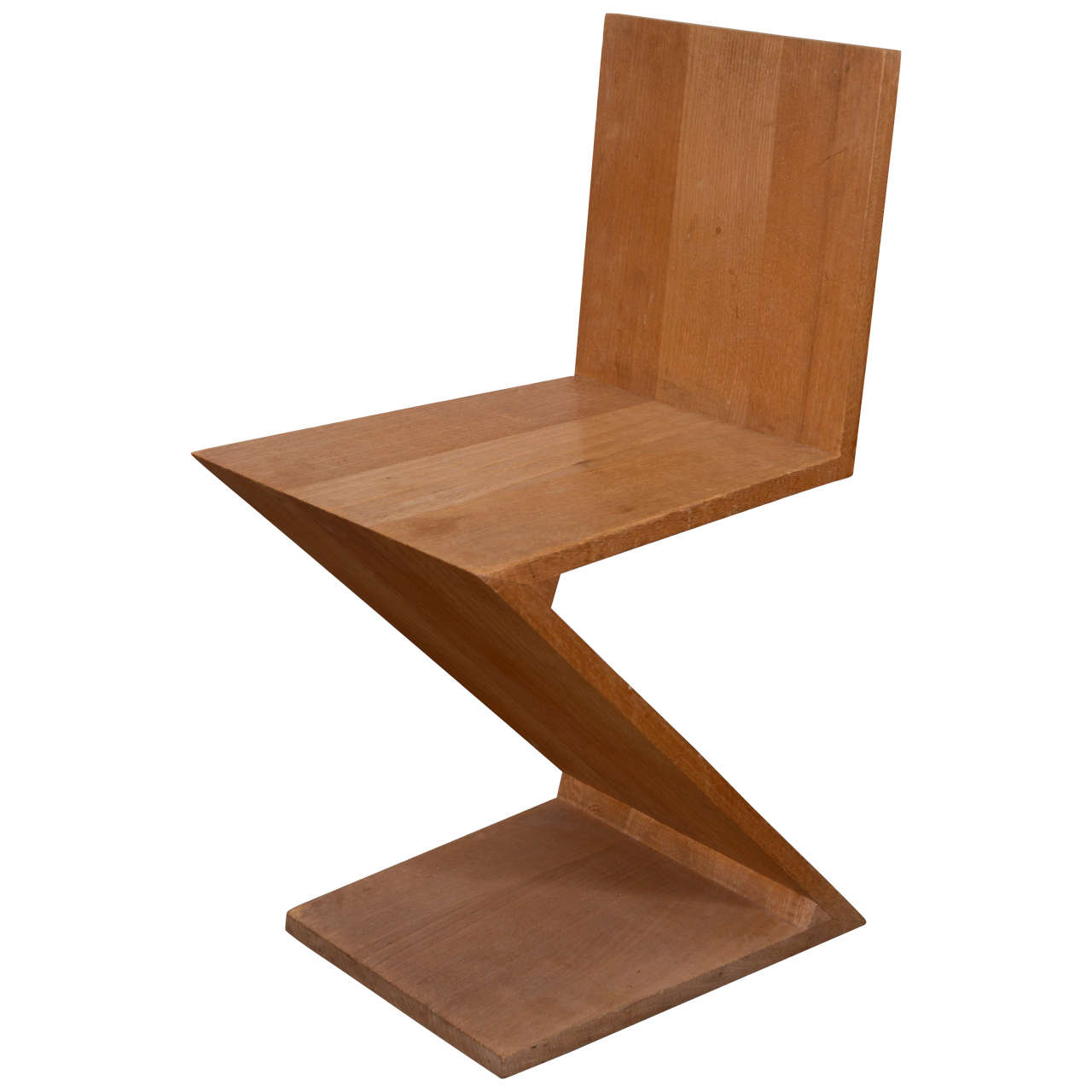 Etonnant Zig Zag Chair By Gerrit Thomas Rietveld For Sale