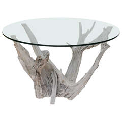 Large Driftwood Center or Dining Table