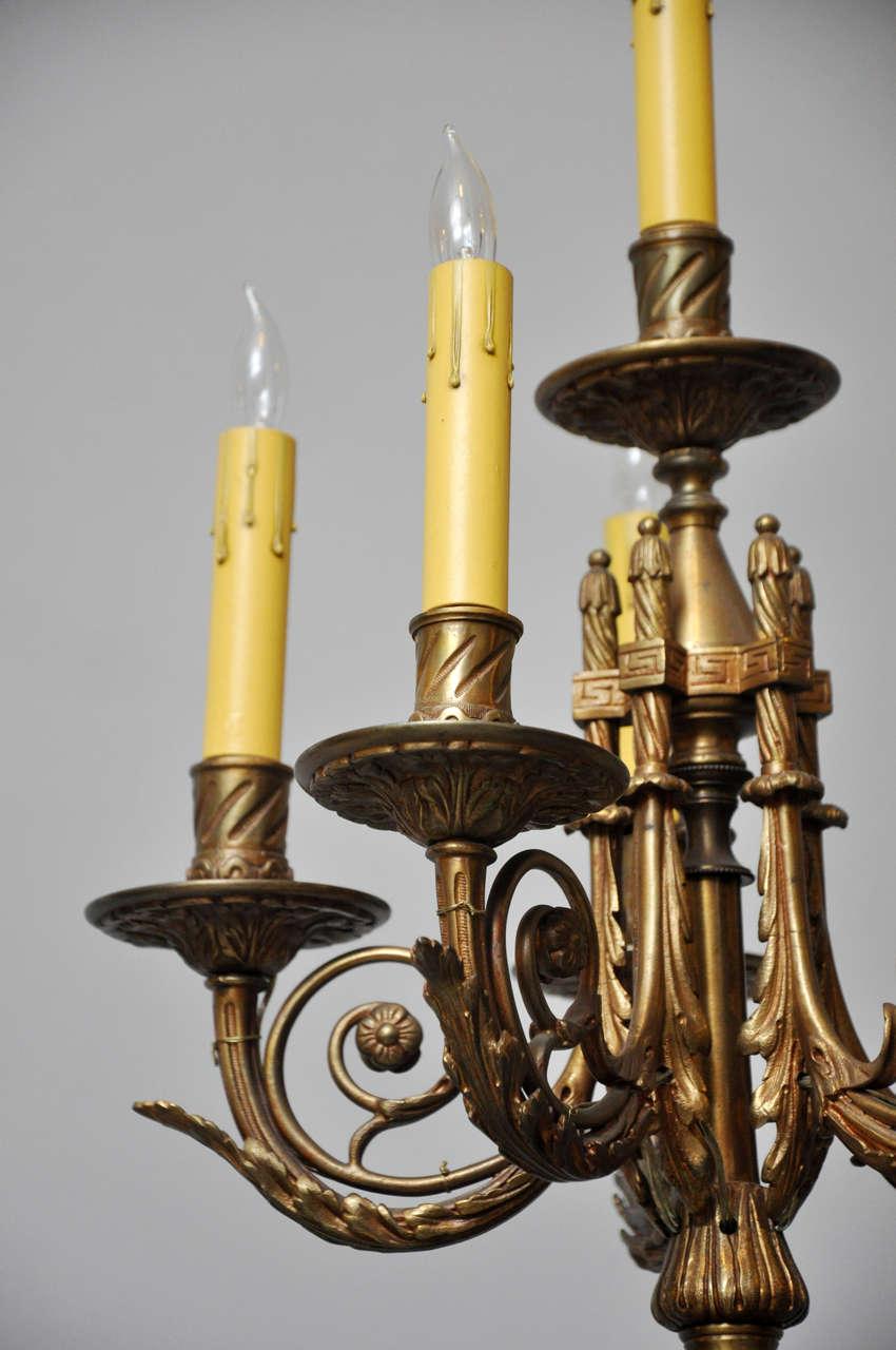 Monumental French Sèvres Cobalt Blue Porcelain Bronze Urn Candelabra Table Lamp For Sale 1