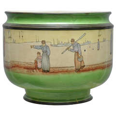 "Royal Doulton ""Dutch Harlem"" Jardiniere"