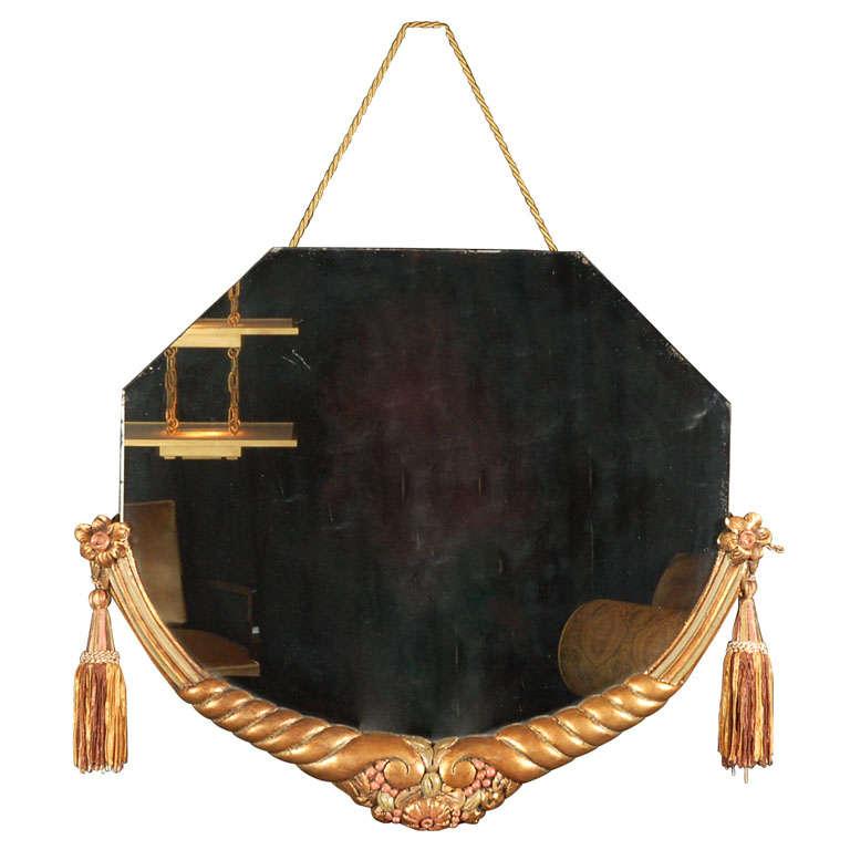 Original Art Deco Mirror attributed to Jallot