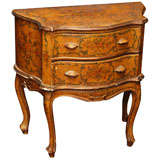 19th Century Two Drawer Painted Commodini