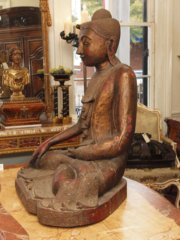 19th Century Thai Buddah For Sale 5
