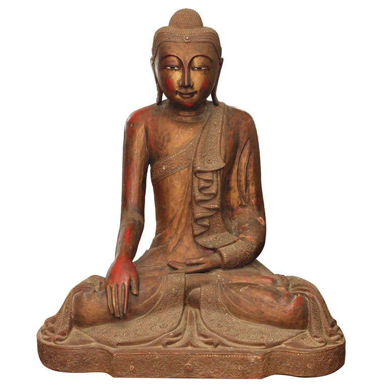 19th Century Thai Buddah For Sale