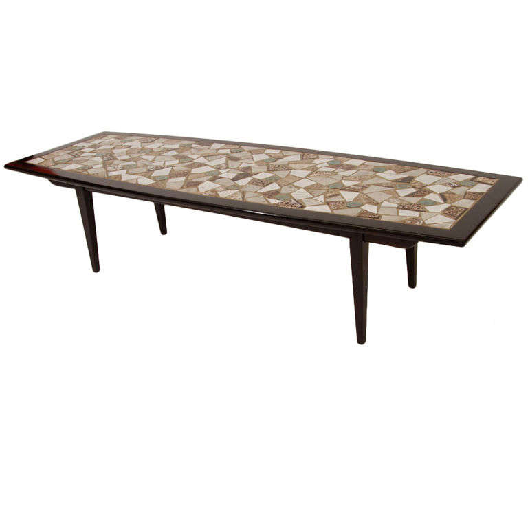 Great Mosaic Tile Top Coffee Table 1
