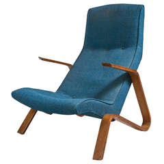 1940's Knoll Grasshopper Chair by Eero Saarinen