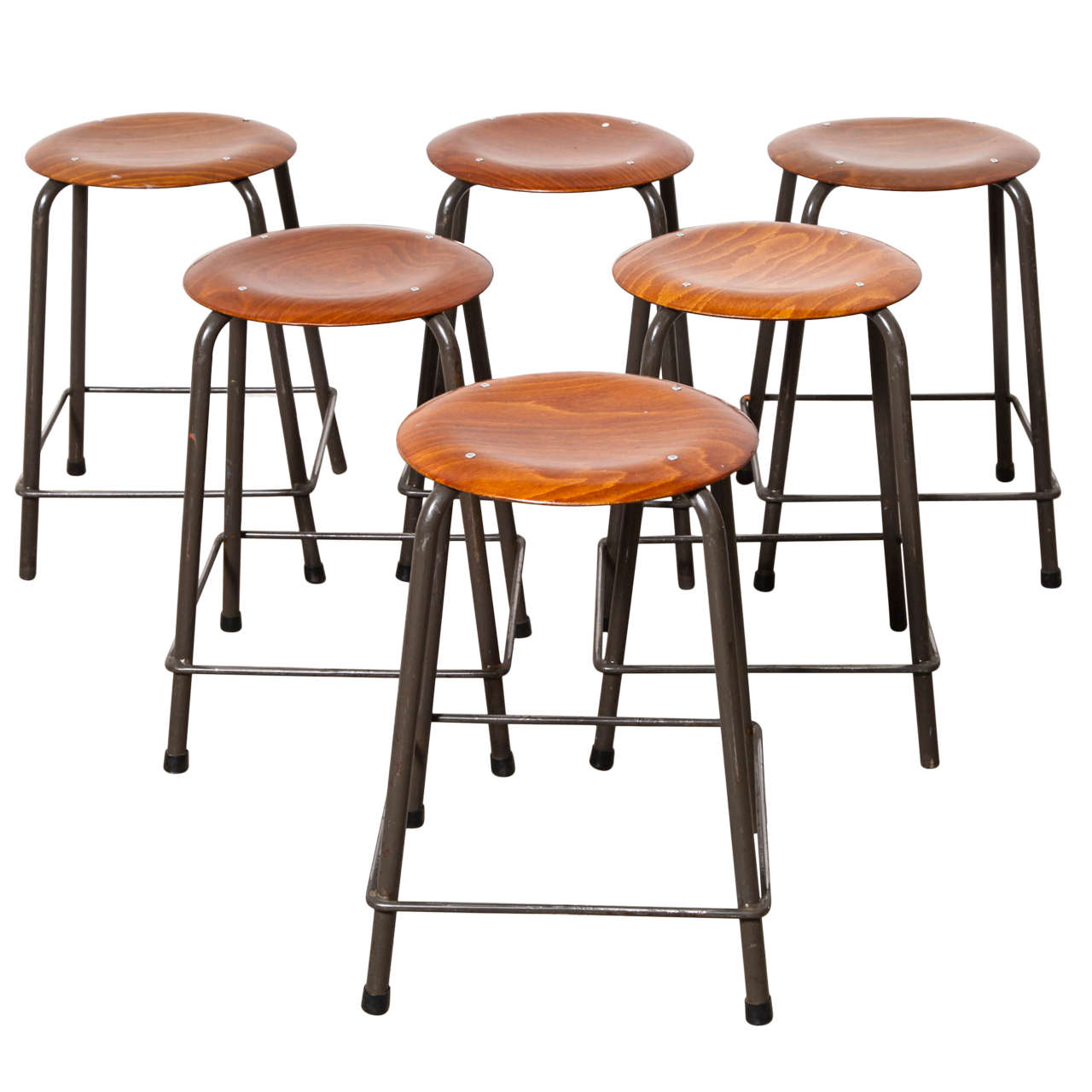 industrial stools from marko at 1stdibs