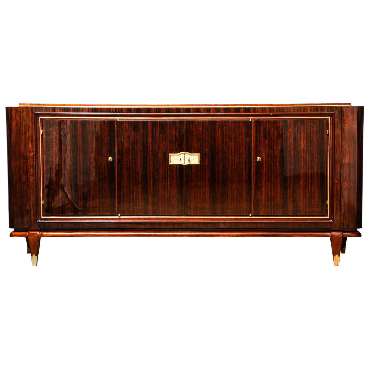 kommode walnussholz original art deco spiegel vitrine aus dunkelem walnussholz kommode. Black Bedroom Furniture Sets. Home Design Ideas