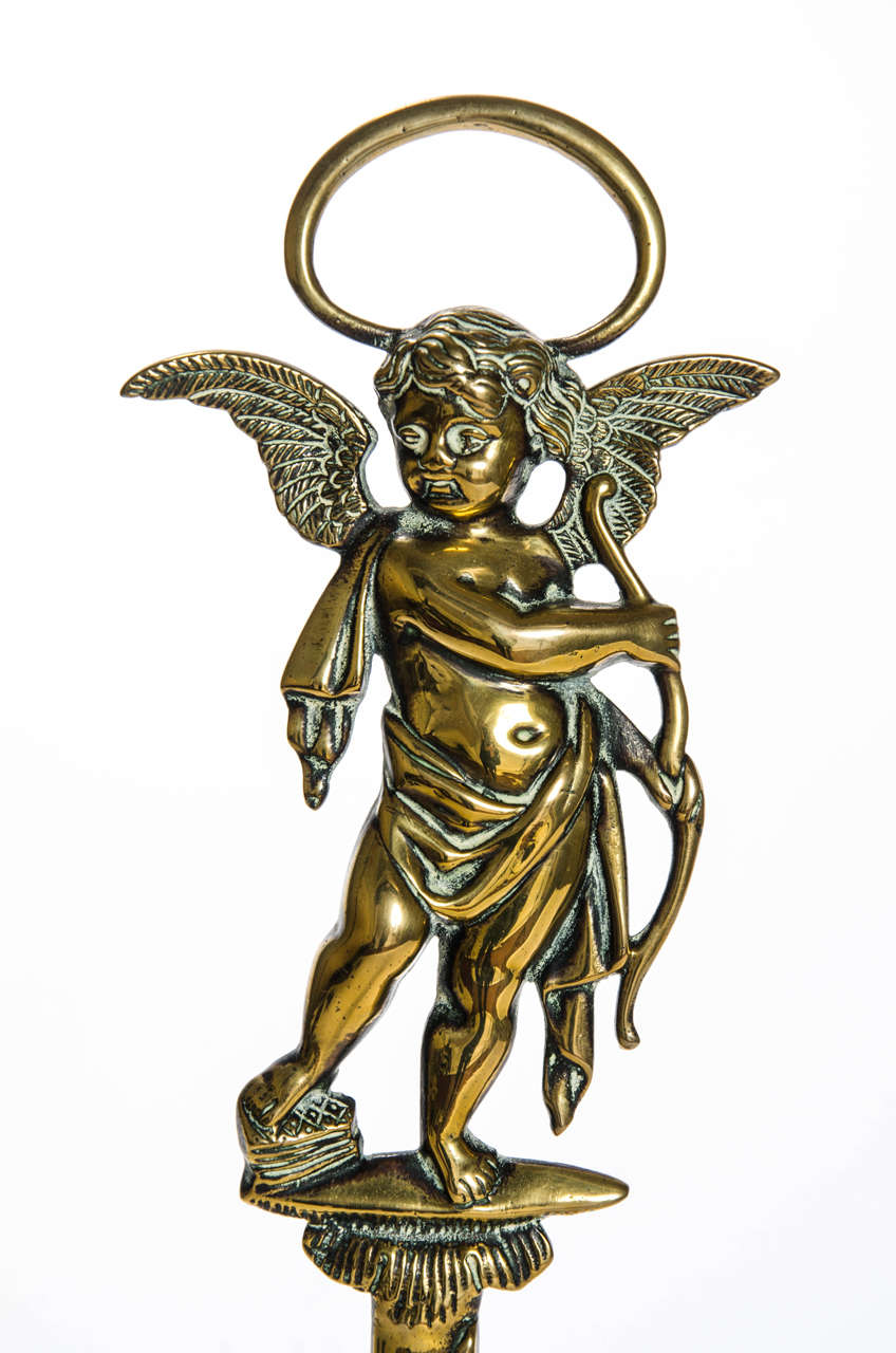 European Cupid Door Stop, Victorian For Sale