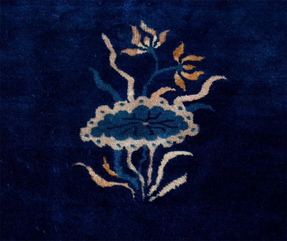 Blue And White Chinese Rugs