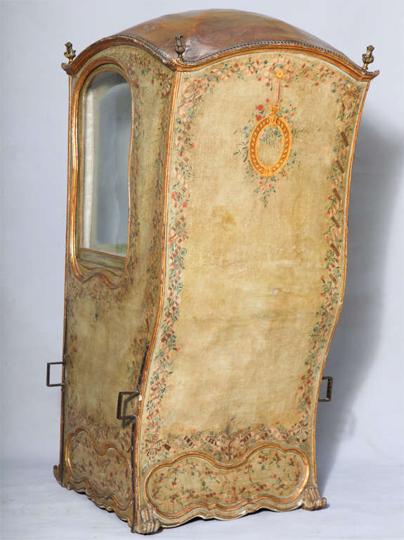 18th C. Venetian Sedan Chair from the Estate of Tiziani image 8