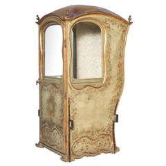 18th C. Venetian Sedan Chair from the Estate of Tiziani