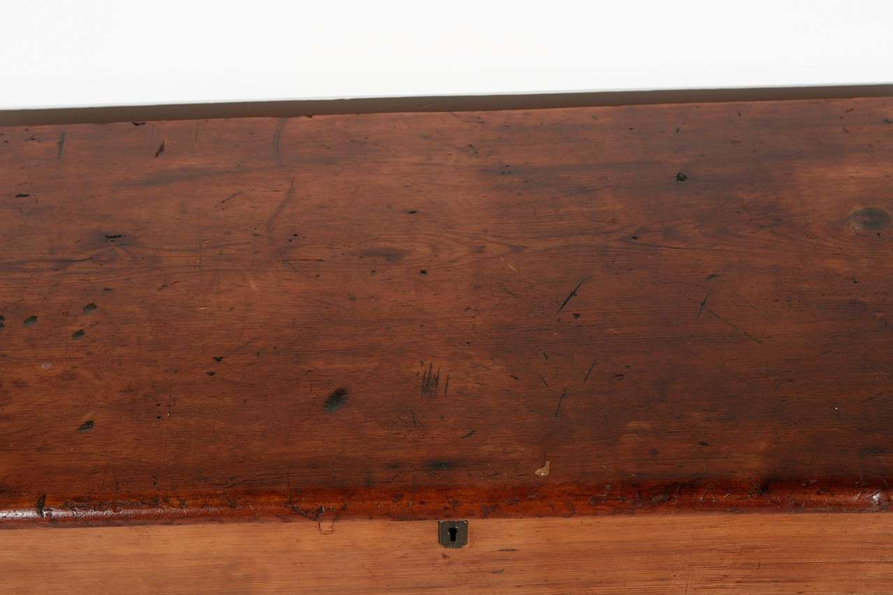 Early 20th Century Antique Cedar Blanket Chest At 1stdibs