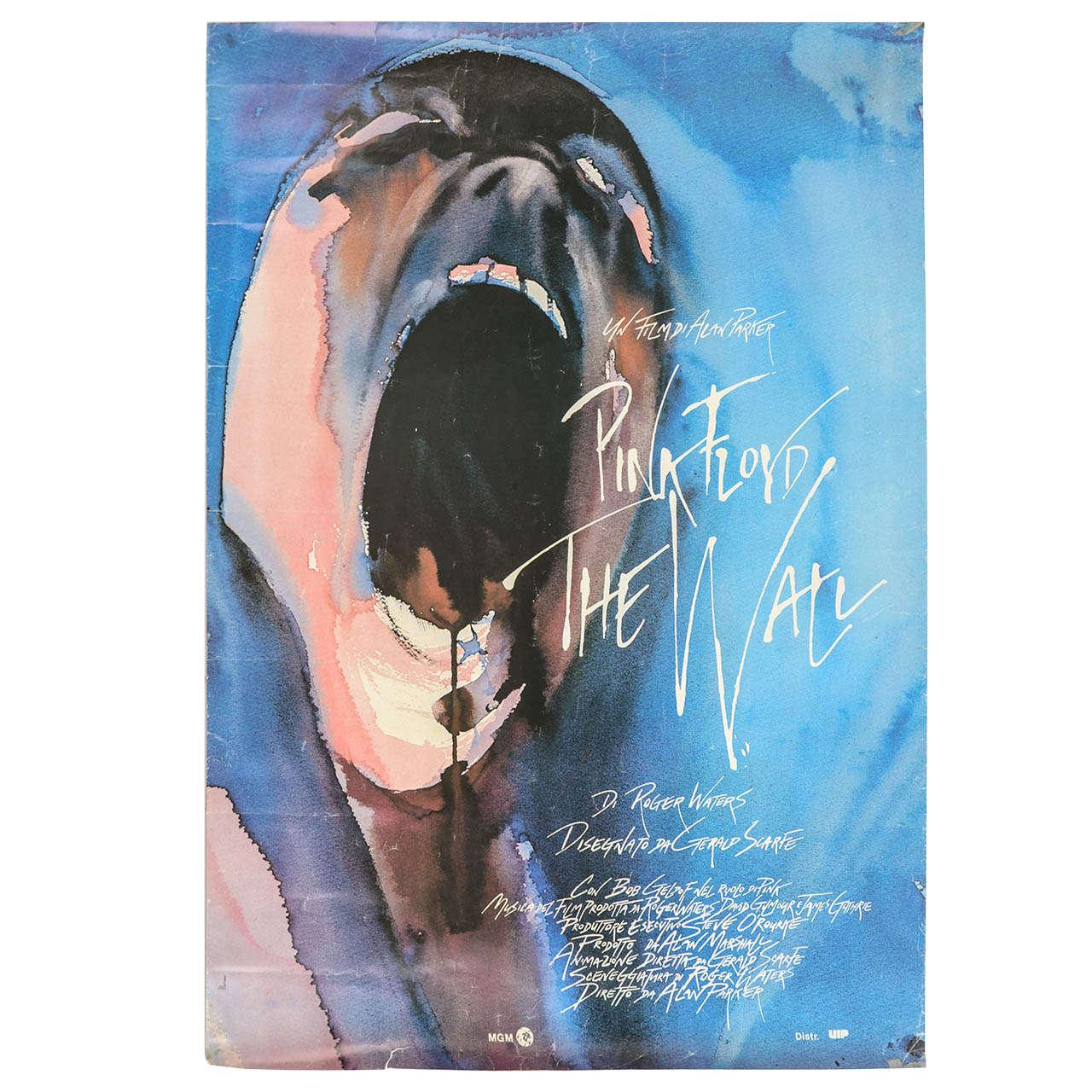 Original Film Poster for, u0026quot;Pink Floyd the Wallu0026quot; at 1stdibs