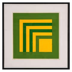 Josef Albers Silk Screen- Artist's Proof