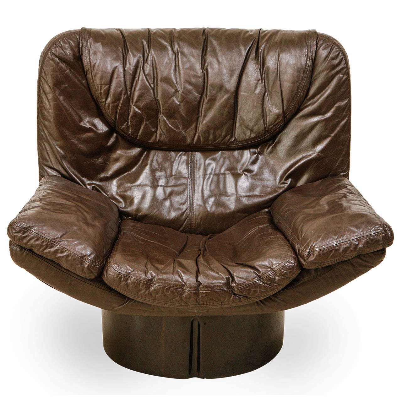 Leather Sofa Repairs Enfield: Lounge Chair By Comfort Designed By T.Ammannati And G.P