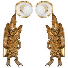 Art Nouveau Sconces
